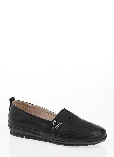 Derigo %100 Deri Ayakkabı Siyah
